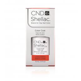 Shellac nail polish - CREAM PUFF CND - 1