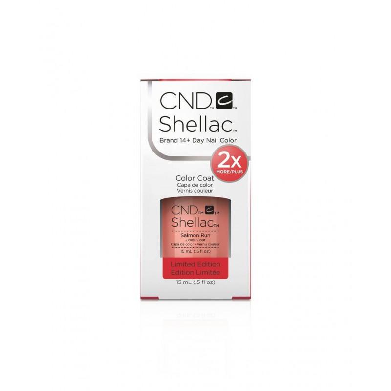 Shellac nail polish - SALMON RUN CND - 1