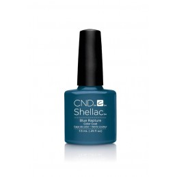 Shellac nail polish - BLUE RAPTURE
