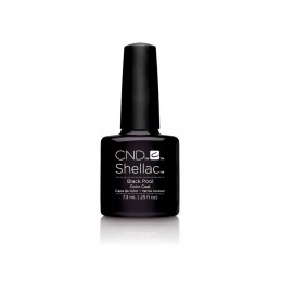 Shellac nail polish - BLACK POOL