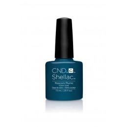 Shellac nail polish - PEACOCK PLUME